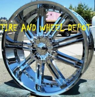 24 inch V80 Rims Wheels Tires Le Sabre Park Ave Cadillac cts STS DTS