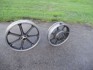 KZ 1000 Pair 16/19 Mag Wheels Vintage OEM LTD KZ1000 77 80 Kawasaki
