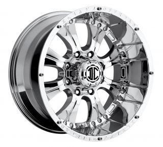 20 inch 2CRAVE NX 1 Chrome Wheels Rims 5x5 5 Dodge RAM 1500 Ford