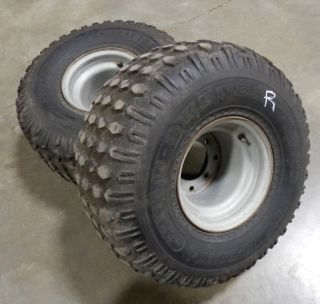 Yamaha Banshee Rear Wheels Tires YFZ Raptor Warrior ATV 450 350