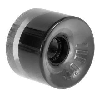 OJ 60 mm Hot Juice 78A Wheels Transparent Black Skateboard