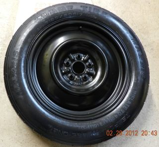 2012 Toyota Sienna Spare Tire Wheel Donut 165 80 17 Genuine