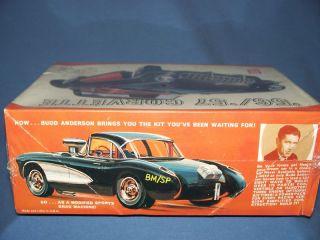 Vintage MPC 56 57 Corvette Model Car Kit Build 8 Ways