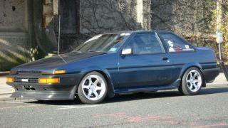 15x8 Varrstoen Wheels 4x114 3 Rim 0mm Hyper Silver Fits Corolla 83 87