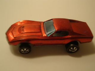 HOT WHEELS Custom Corvette Original 1967 RED LINES Metallic SPECTRA