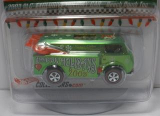 Hot Wheels Redline Club 2003 Holiday Car Beach Bomb Too Larry Wood