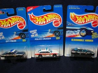 Hot Wheels Police Fire Cars