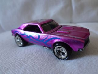Hot Wheels Nationals Collectors Pink Camaro April 2011 Loose Car