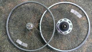 Schwinn 26 Rims Wheels s 2 BMX Cruiser King Sting Atom Mongoose