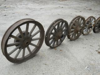1920 Hudson Brake Drums Wooden Spoke Wheels