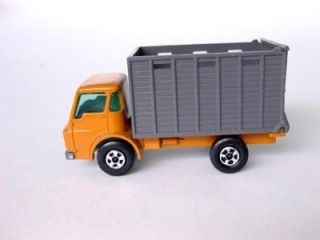 Lesney Matchbox 37c Dodge Cattle Truck with Superfast Wheels