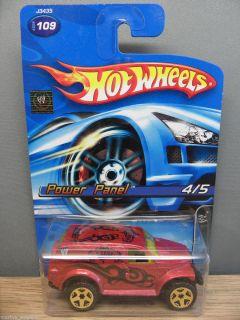 2006 Hot Wheels 1 64 WWE Power Panel 109