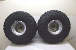 Honda ATC 250ES 250 ES Big Red ATV Rear Tires Wheels 85 1985