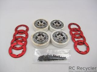 Four Losi Mini Rock Crawler 1 9 Wheels MRC
