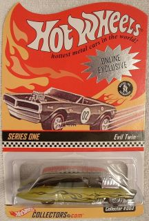 HOT WHEELS RED LINE CLUB ONLINE EXCLUSIVE SERIES 1 EVIL TWIN RLC