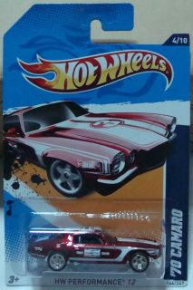 Hot Wheels Secret Super Treasure Hunt 70 Camaro Road Race Thunts 2012