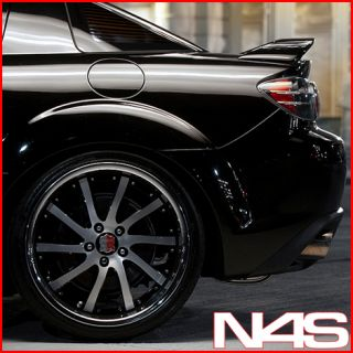Mazda RX8 Roderick RW4 Machined Concave Staggered Rims Wheels
