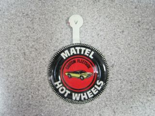 1967 Mattel Hot Wheels Custom Fleetside Pin