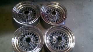 15 in Chrome Wire Wheels