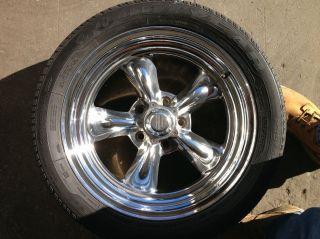 American Racing Torque Thrust II Wheels Polished Aluminum