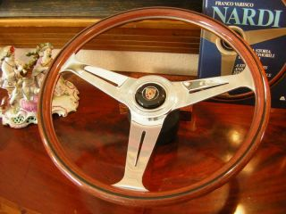 Porsche 911 930 74 to 89 Nardi Wood Steering Wheel 15 3 New