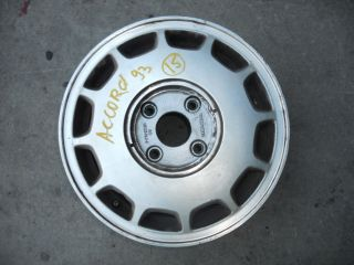 92 93 Honda Accord Wheel Rim 15x5 1 2 Alloy S8