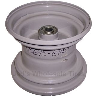 Lawn Mower Garden Tractor Deck Rim Wheel 5 8 ID Bearing Grey