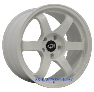 17 Rota Wheels 17x9 Grid White 4x114 93 94 240sx S13