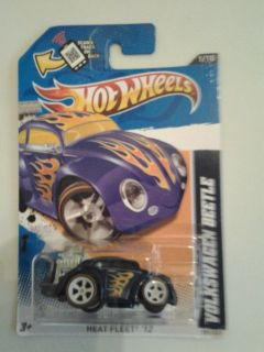 2012 Hot Wheels Super Treasure Hunt Volkswagen Beetle Look RARE