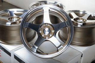 17x8 Effect Wheels Rims 4 lugs Sentra Versa Altima Lancer Accord