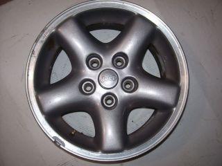 96 01 JEEP Cherokee Wrangler 15 Aluminum Wheel OEM Jeep 15x7 5 lug 4 1