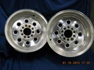 15x8 Weld Draglite Wheels Chevy Ford Mopar Low Reserve
