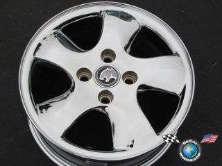 02 Mercury Cougar Factory 15 Chrome Wheels Rims 3301 98BG Ba
