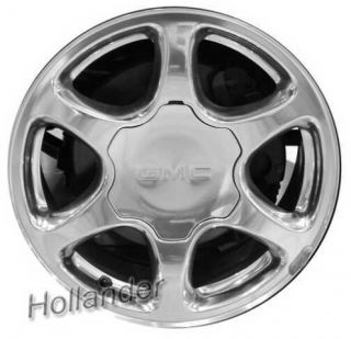 Chevrolet Silverado 1500 17 Aluminum Wheel Rim 01 06 N93