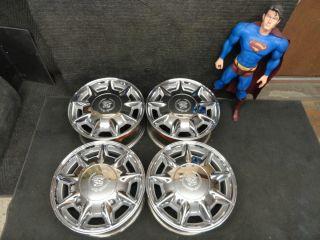 16 CHROME Cadillac Rims Seville Deville OEM Wheels 96 97 98 99 00 01