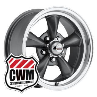 Gray Wheels Rims 5x4 75 Lug Pattern for Chevy El Camino 82 87
