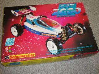 Schumacher Cat 98 EC Box Manual Spare Wheels Tires