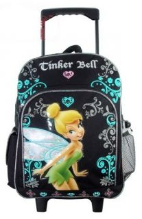 Tinkerbell Rolling Backpack on Wheels School Bag Large