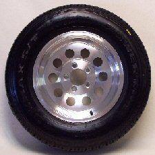 Trailer Tire and Wheel Aluminum Rim 15 Inch