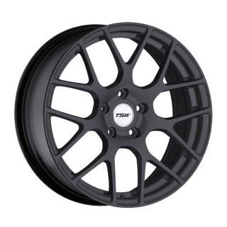 18x9 5 TSW Nurburgring Gray Wheel Rim s 5x112 5 112 18 9 5