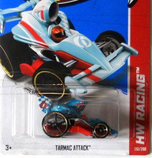 Hot Wheels 2013 HW Racing Tarmac Attack F Case
