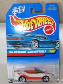 Hot Wheels 1998 95 Camaro Convertible 796