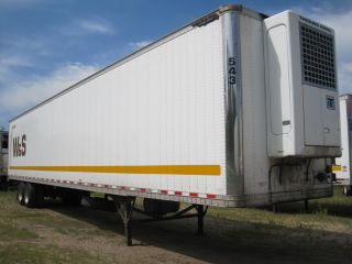 2008 Great Dane 53 x 102 Refrigerated Reefer Trailer   Thermo King