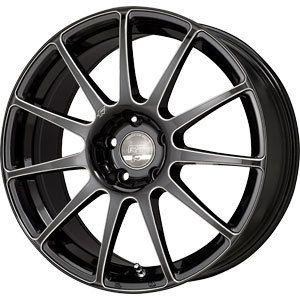 New 18x8 5x120 Falken RT 11C Black Wheels Rims