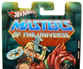 SDCC 2012 Hot Wheels Masters of The Universe Volkswagen Drag Bus