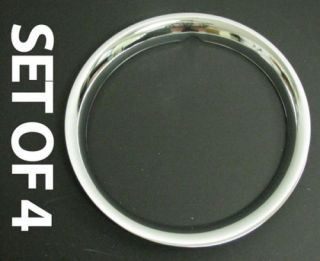 Chevy GMC Van Truck Trim Rings Rim Chrome Wheel 15