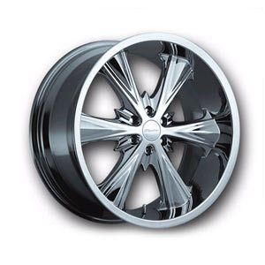 20 Panther Juice Chorme Wheels 6x139 7 10 Chevy GMC Nissan 6 Lug