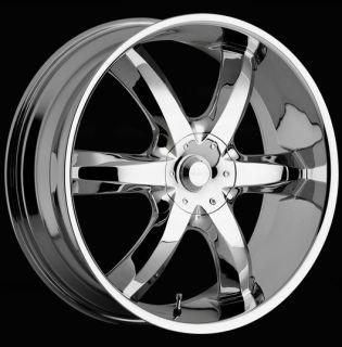 20 inch Akuza Laguna Chrome Wheels Rims 5x112 35