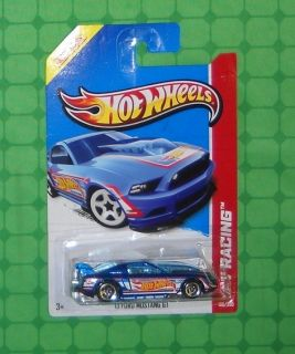 2013 Hot Wheels HW Racing Series Race Team 106 13 Ford Mustang GT