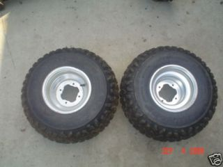 Yamaha Warrior 350 ATV Rear Wheels Rims Tires 03 4x115